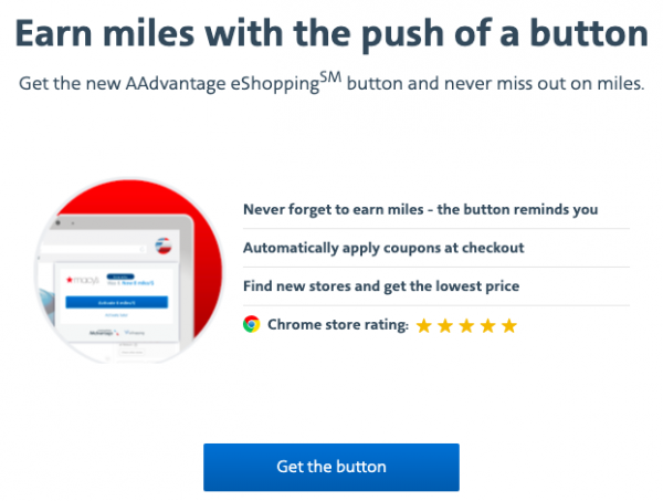 Download the AAdvantage eShopping Chrome Extension