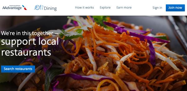 aadining supports local restaurants