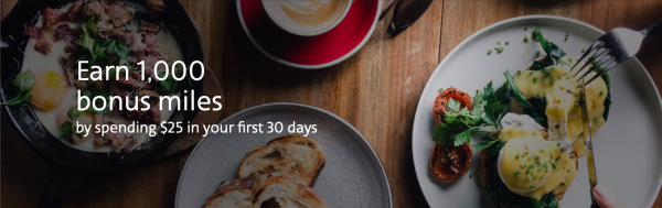 aa advantage dining is offering 1,000 miles after spending $25 in 30 days