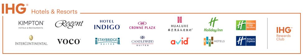 IHG Rewards brands