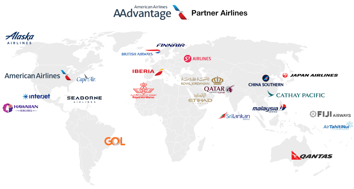 american airlines partners