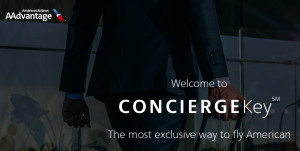 Concierge Key is the highest level of American Airlines AAdvantage elite status