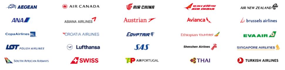 United MileagePlus Star Alliance Partners