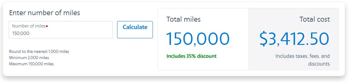 Buy AAdvantage Miles with a 35% bonus