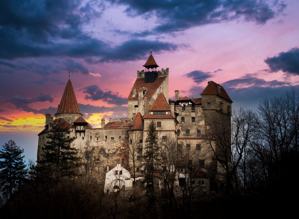 Can you get more haunted than Dracula's Castle?