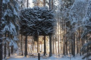 Mr and Mrs Smith Hotels 'Bird's Nest' at the Treehotel, Sweden