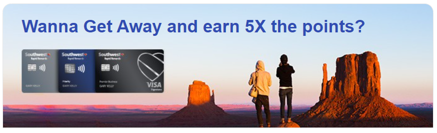 earn bonus Southwest Rapid Rewards points on Southwest purchases
