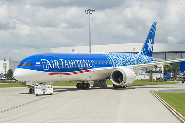 Air Tahiti Nui is the flag carrier of French Polynesia