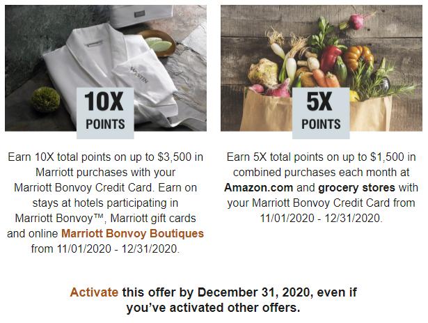 Marriott Bonvoy Chase Promotions