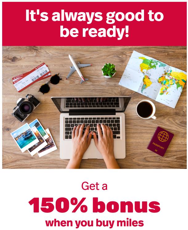 buy LifeMiles with a 150% bonus