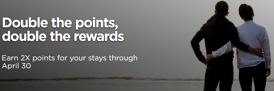 2x Bonus Points with Radisson Hotels Info