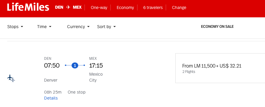 Fly your family to Mexico City for 11,500 LifeMiles