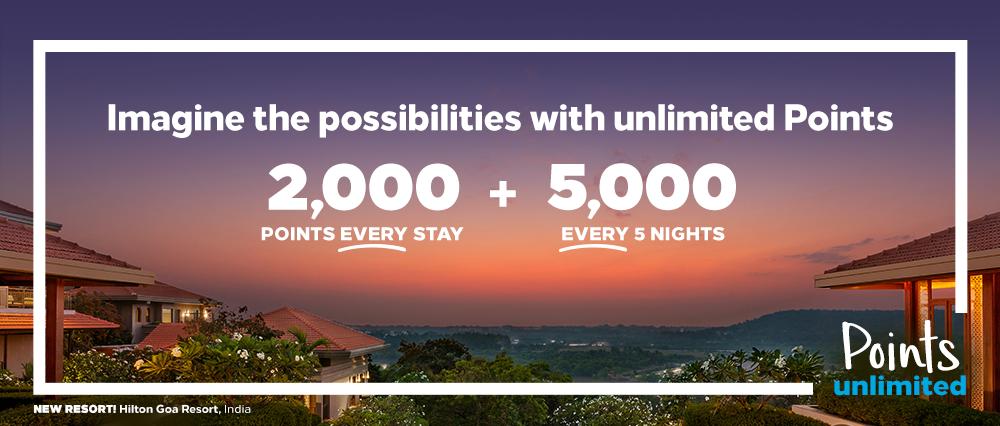 Points Unlimited Hilton Promotion