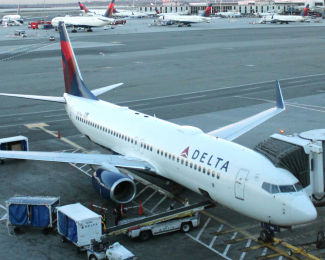 Delta Air Lines at New York JFK