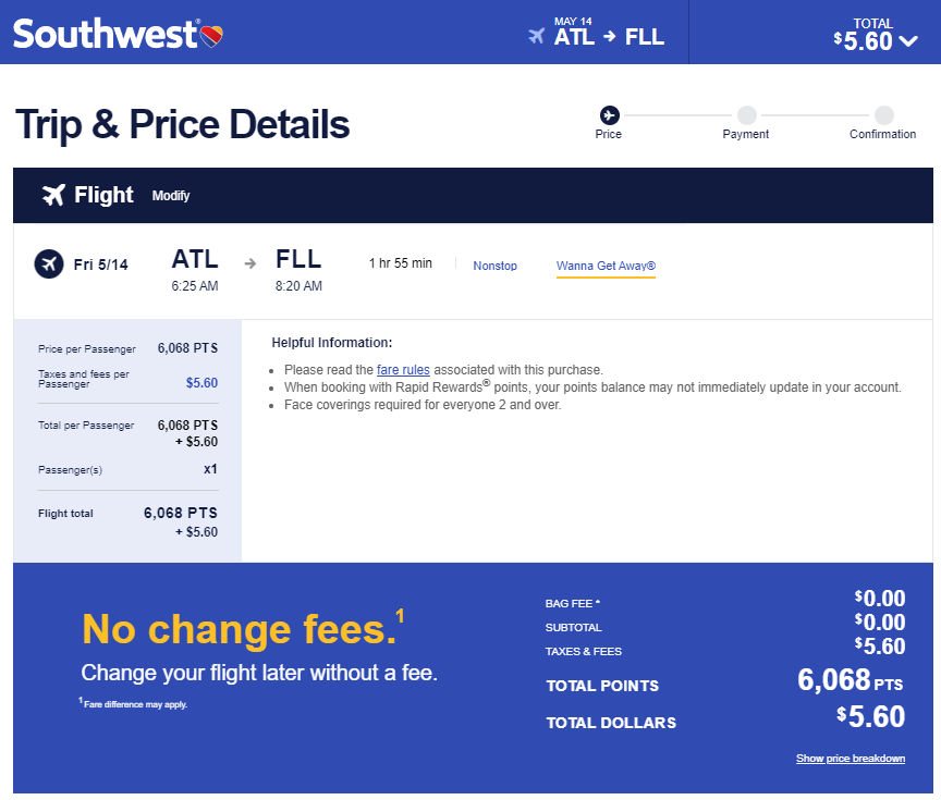 example after the Southwest devaluation