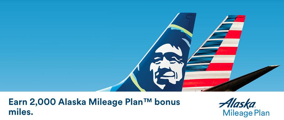 Alaska 2000 Bonus Miles Promotion banner