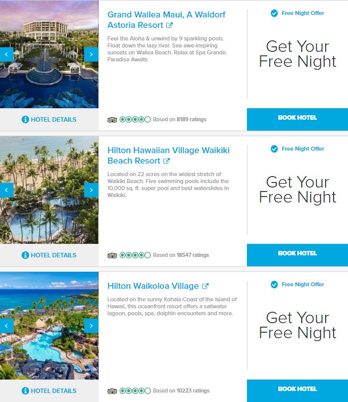 Hilton Free Night Promotion 2021