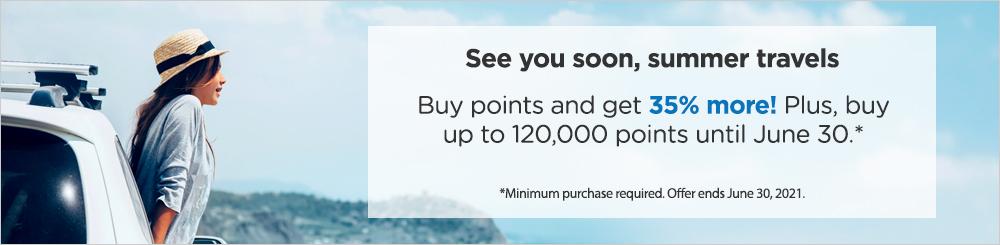 buy Wyndham points with 35% bonus
