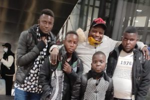 Miles4Migrants helped reconnect a father with his four sons