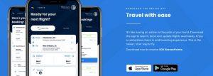 Breeze Airways app