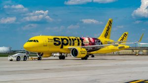Spirit Airlines' Spirit Untamed aircraft
