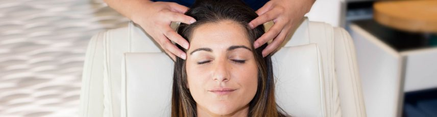 Get a head massage through Priority Pass experiences
