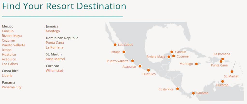 AMResort Locations