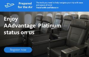 get free American Airlines elite status