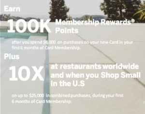 new Amex Platinum welcome offer