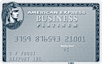 Business Platinum Card® from American Express OPEN